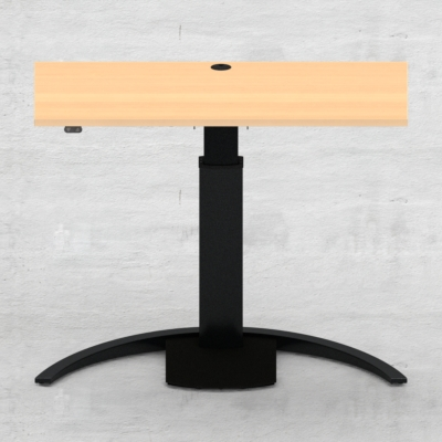 Electric Adjustable Desk | 120x60 cm | Beech with black frame